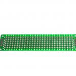 แผ่นปริ๊นอเนกประสงค์ แผ่นปริ้นไข่ปลา Prototype PCB Board 2x8 cm สีเขียว