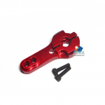 25T Servos metal rocker สีแดง (สำหรับ MG995 MG996R S3003)