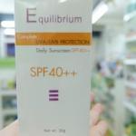 EQUILIBRIUM SUNSCREEN SPF40++ 30 G