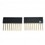 1x10 Pin Female Pin Header Connector จำนวน 1 ชิ้น