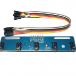 5 Infrared Line Tracking Senser for Smart car เซนเซอร์ตรวจจับเส้นขาวดำ สำหรับ Smart car