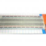บอร์ดทดลองแบบใส Protoboard Breadboard 830 holes เบรดบอร์ด โพโต้บอร์ด