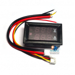LED Seven Segment Voltage And Current Meter Digital DC0-100V 10A