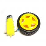 Wheel robot car + Motor Gear Box