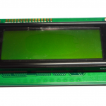 2004 LCD (Green Screen) with backlight of the LCD screen