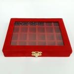 กล่องกำมะหยี่ (แดง)