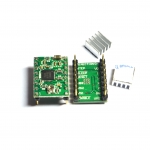 A4988 Stepper Motor Driver Module (for 3D Printer) + Heatsink (ไดร์เขียว)