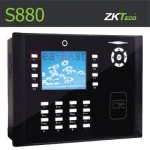 เครื่องทาบบัตร คีย์การ์ด บันทึกเวลา ZK S880