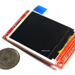 1.8 Color TFT LCD display พร้อมช่องเสียบ SD Card