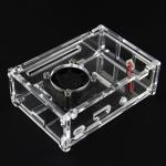Acrylic Case for Raspberry Pi 3 Model B พร้อมพัดลมระบายความร้อน