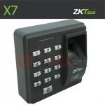 เครื่องสแกนลายนิ้วมือ ควบคุมประตู ZK X7 ราคาถูกพร้อมระบบล๊อคประตู