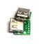 Usb2 socket USB plug A Female (PCB) thumbnail 1
