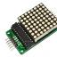 LED Matrix Driver Module + LED Dot Matrix 8x8 ขนาด 40mm x 40mm thumbnail 1