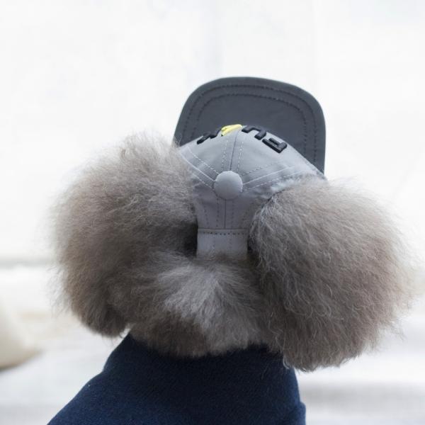 รูปภาพสินค้า หมวกน้องหมา หมวกสุนัข สไตล์บีบอย ลาย FU*K