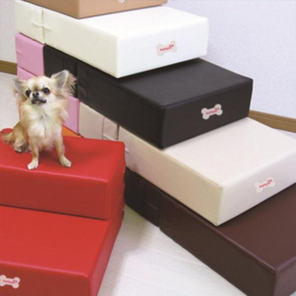 รูปภาพสินค้า บันไดน้องหมา ที่นอนหมาแมว บันไดสุนัข หนัง PU