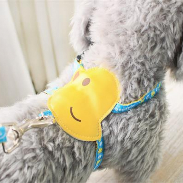 รูปภาพสินค้า สายจูงสุนัข เสื้อจูงสุนัข สายรัดอกน้องหมา สายจูงแมว เสื้อรัดอกลายขนมหวาน สำหรับน้องหมาน้องแมว