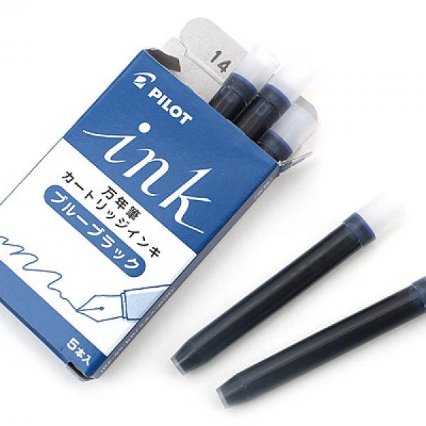 รูปภาพสินค้า หมึกหลอดสำหรับปากกาหมึกซึม Pilot Ink Cartridge กล่อง 5 หลอด