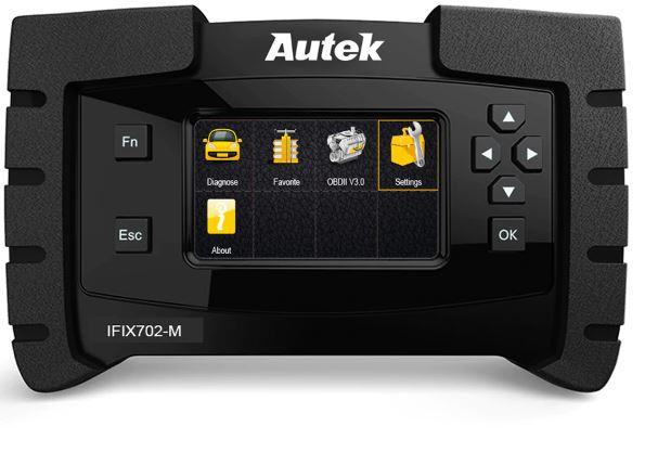 Autek IFIX702M ODB OBD2 Scanner for Mercedes Benz Car Professional  Diagnostic Scanner Oil Service Reset OBDII Air Reset Tool